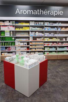 Pharmacie Locminé - Adeco Breizh #agencement #pharmacie #aménagement