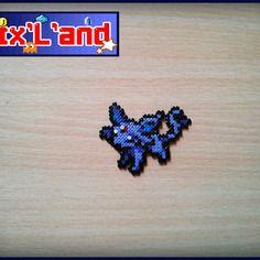 Pokémon unitaire effectué en perles hama mini