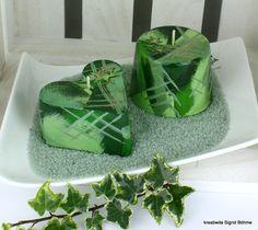 Weihnachtskerze 2er Set PATCHWORK DW 505 von  Kerzenkunst -  Kreatiwita auf DaWanda.com