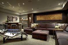 Media entertainment room