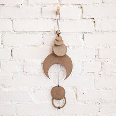 Heather Levine Moon Ceramic Wall Hanging at General Store