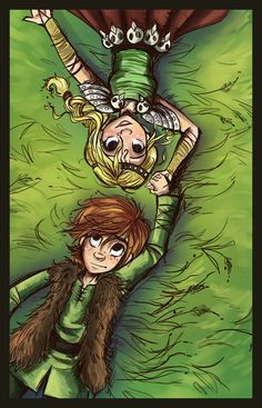 How To Train Your Dragon Hiccup and Astrid! Is it just me, or does Astrid remind you of Aravis from Chronicles of Narnia?