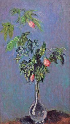 Vase de fleurs (C Monet),1882