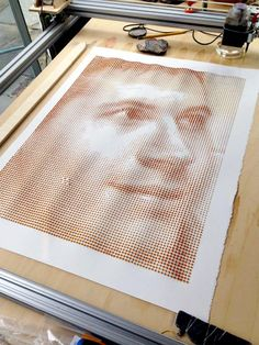 Device Prints Elaborate Pictures Using Only Drops of Coffee | Mental Floss