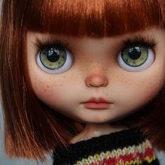 #blythe #doll #art #custom #picca #taradolls she stays my fav stock girl forever...❤️❤️❤️