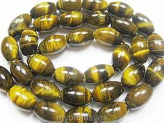 AA 8x12mm Natual Tigers Eye Gemstone Rice Shape Loose Beads 15 F528PE | eBay $2.92 free