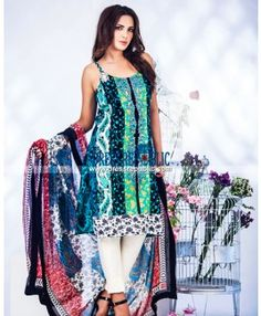 Ayesha Somaya Embroidered Eid Lawn Collection 2015