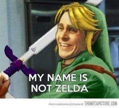Link has had enough…