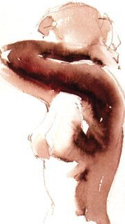 watercolor figure painting - Google Search