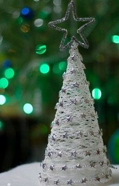Simple homemade Christmas craft.
