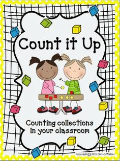 Easy go to guide for counting collections in your classroom. Perfect activity for the 100th day!
