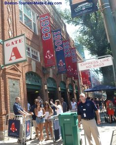 Fenway Park Boston Banners - this is THE classic baseball park every kid should see a game here