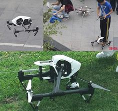 Some leaked pictures of the upcoming DJi Inspire1.