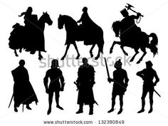 Find knight stock images in HD and millions of other royalty-free stock photos, illustrations and vectors in the Shutterstock collection. Castle Silhouette, Princess Silhouette, Tree Silhouette, Silhouette Tattoos, Silhouette Images, Royalty Free Images, Royalty Free Stock Photos, Medieval Princess, Dragon Warrior