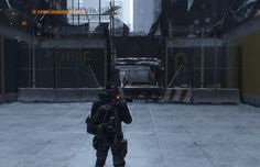 The Division - So There's an Entrance to DZ08