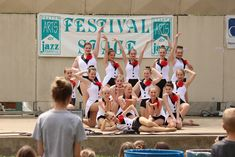Strike a pose, and see the wonderful dancers of the Denton Dance Conservatory and City Ballet show off their movies Saturday  on the Denton Record-Chronicle Festival Stage at 2:45 pm! #dentonjazzfest