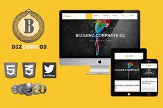 Biz Corp Premium HTML5 Template 03 by bizgenz on @creativework247