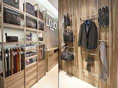 Liu-Jo Uomo tienda de prima por Studio poiesis, Bolonia - Italia »Retail Design Blog