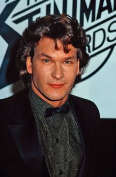 Patrick Swayze, male actor, dancer, artist, r.i.p., Dirty Dancing, portrait, photo