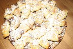 Cornulețe fragede cu nuci Deserts, Dairy, Cheese, Cooking, Food, Desserts, Meal, Kochen, Essen