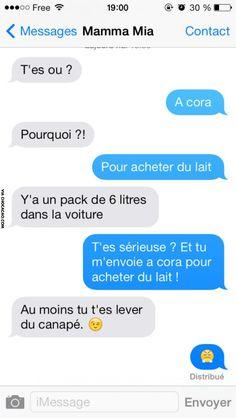 Humour SMS : L'astuce d'une maman !