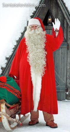 Papai noel / Pai Natal em viagem