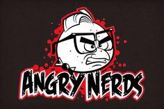 Angry Nerds Tee