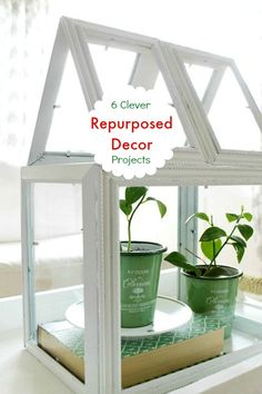 6 Clever DIY Repurpose Decor Projects To Try this Summer!