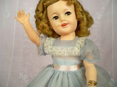 Greetings! Vintage Ideal Shirley Temple. Click pix for more.