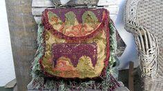 Bohemian Backpack Bag Purse Gypsy Lace Fringe by ZojjaUniquelyYou