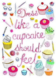Cupcakes and fonts <3