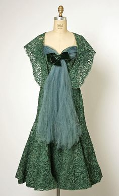 Evening ensemble, 1955
