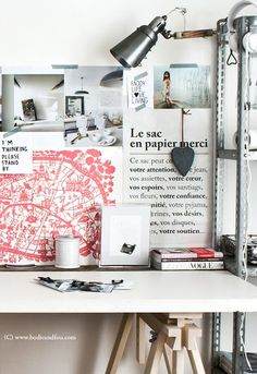BODIE and FOU★ Le Blog: Inspiring Interior Design blog by two French sisters: Summer workspaces