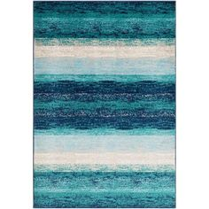 Surya Paramount Teal Indoor Industrial Area Rug (Common: 5 x 8; Actual: 63-ft W x 90-ft L) in the Rugs department at Lowes.com