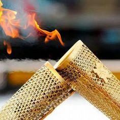 Олимпийский огонь на пути к Волгограду