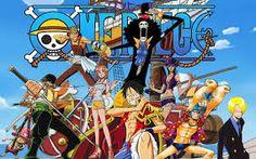 """One Piece: La serie habla sobre un chico llamado Monkey D. Luffy, en su niñez obtuvo poderes elásticos al comer una Akuma no mi (Fruta del Diablo ). Inspirado por su amigo el pirata Shanks comienza un viaje para alcanzar su sueño: ser el """"Rey de los Piratas"""". Ahora recorre los mares con el sueño de atravesar el Grand Line, un mar peligroso y desconocido donde Gol D. Roger (difunto rey de los piratas) escondió el One Piece, un tesoro de proporciones inimaginables"""
