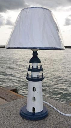 Nautical lighting - Copper Ships lanterns and nautical table lamps from Dorset Gifts - nautical and maritime gifts for the home, nautical bedroom, garden or boat. Nautical Lamps, Nautical Lighting, Nautical Bedroom, Coastal Lighting, Nautical Design, Nautical Home, Coastal Decor, Lighthouse For Sale, Lighthouse Lamp