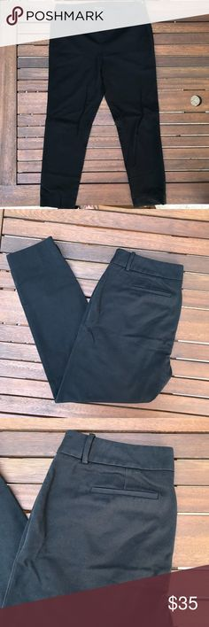 Cynthia Rowley Black Cigarette Pants - 8 Gently used black cigarette pants with a side zip. Ankle length. Great for work. Unfortunately they don't fit anymore so I'm find them a new home. Cynthia Rowley Pants Ankle & Cropped