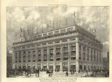 1907 Selfridge And Waring New Premises Oxford Street Atkinson Burnham Chicago