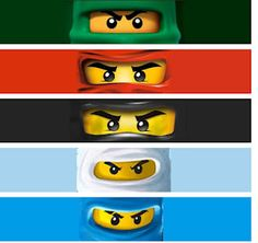 free printables: ninjago drink bottle wraps