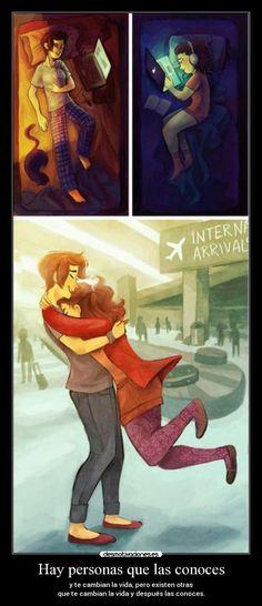 carteles distancia camban vida conocer aeropuerto encuentro vida amor extranar desmotivaciones