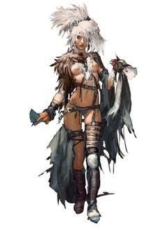 White, a druida. Female Character Design, Character Concept, Character Art, Concept Art, Fantasy Women, Fantasy Girl, Fantasy Characters, Female Characters, Dark Sun