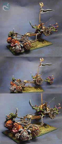 Squig chariot
