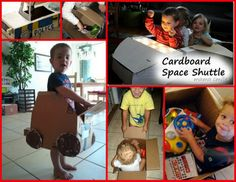 What would your kid(s) do with a cardboard box? #imagination #playmatters