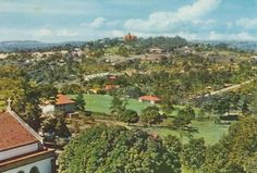 Namirembe From Makerere Hill, Kampala, Uganda