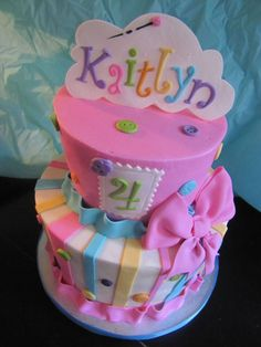 Lalaloopsy Cake!  on Cake Central