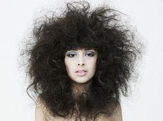 Pelo corto para pelo encrespado