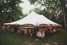 Wedding tents!