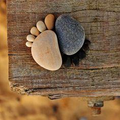 Le Tierra Art de Iain Blake Logros magníficas recuperaron piedras y objetos  …