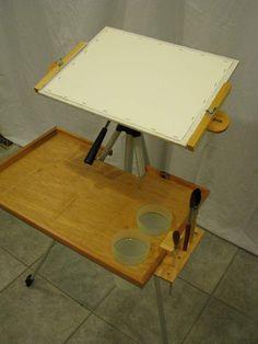 easel shelf watercolor - Recherche Google